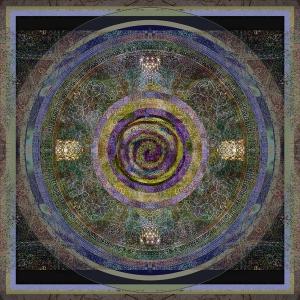 """Soul Compass"" digital collage © Elsah Cort"